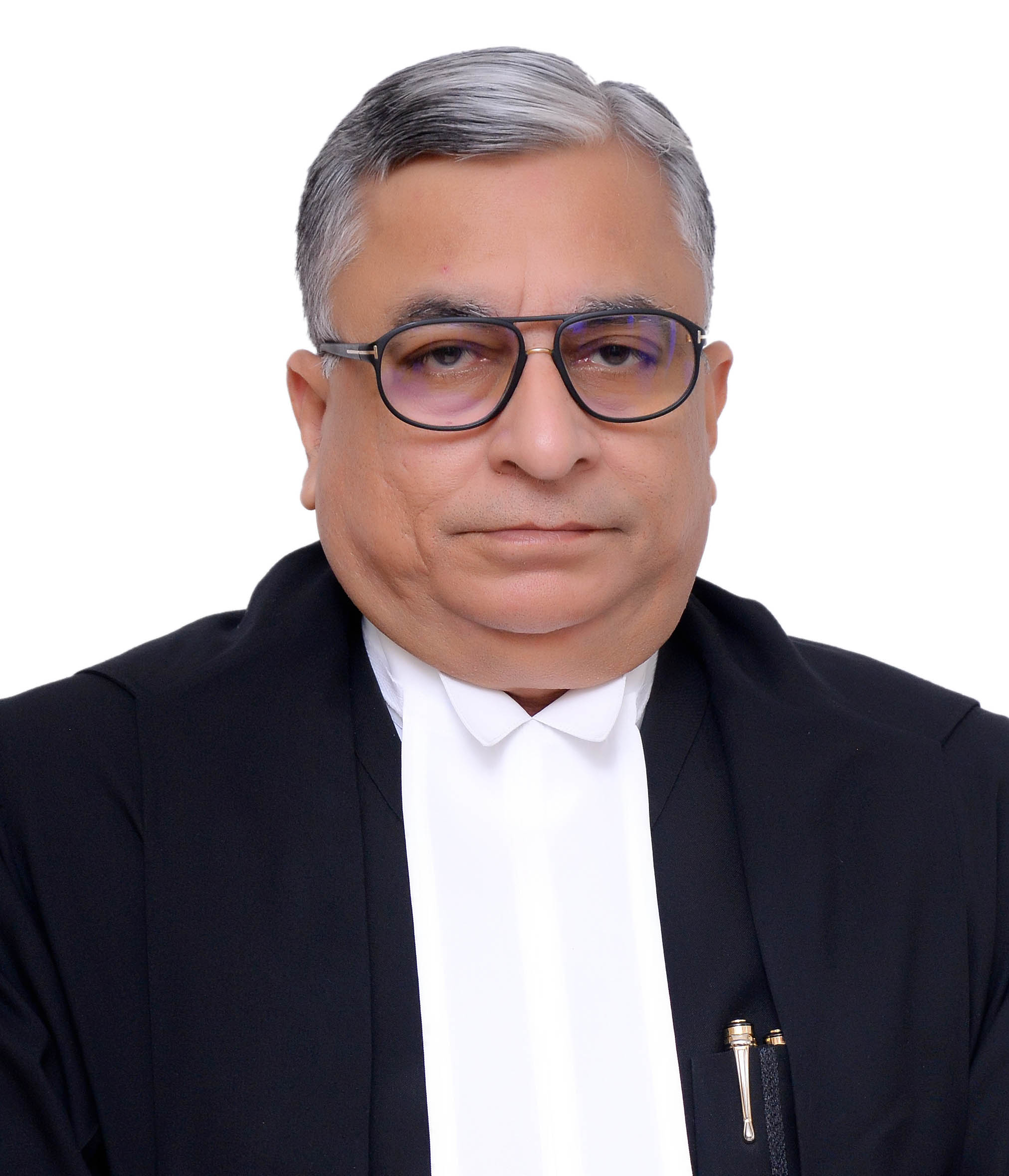 b degree from allahabad university allahabad he was enrolled as an advocate on december 23 1981 he practised in the allahabad high court for over